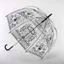Černý deštník Staré městečko