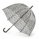Černý deštník průhledný Dam