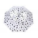 Černý deštník s puntíky Very