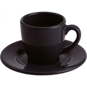 Espresso černý hrnek